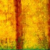 Arte astratta di struttura dell'impressione Bacground luminoso artistico azione Materiale illustrativo della pittura a olio Carta illustrazione vettoriale