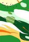 Arte astratta variopinta di Digital/dipingere/fondo/illustrazione illustrazione di stock