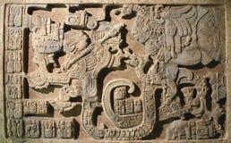 Arte azteca Imágenes de archivo libres de regalías