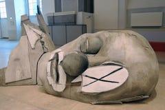 Arte Biennale ArtMosSphere della via II a Mosca Fotografia Stock