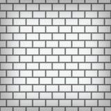 Arte blanco del vector de la pared de ladrillo stock de ilustración