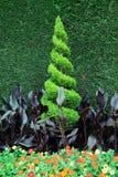 Arte bonita da jardinagem Foto de Stock Royalty Free