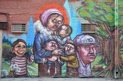 Arte bonita da rua Imagem de Stock Royalty Free
