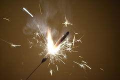 Arte bruciante del fuoco Fotografia Stock Libera da Diritti