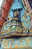 Arte buddha do telhado do templo Fotografia de Stock Royalty Free
