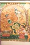 Arte budista mural Fotografía de archivo libre de regalías