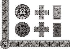 Arte celtica Fotografia Stock