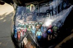 Arte che descrive Punxsutawney Phil il giorno delle marmotte Immagine Stock