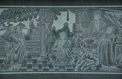Arte chinesa Imagem de Stock Royalty Free