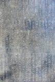 Arte chinesa antiga da caligrafia Foto de Stock