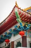 Arte chinesa da arquitetura foto de stock royalty free