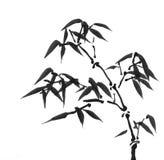 Arte chinesa: pintura da tinta ilustração stock