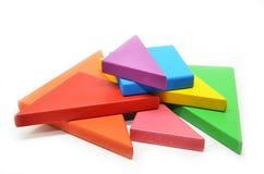 Arte cinese dei puzzle del tangram Immagine Stock