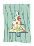 Arte cobarde de la Navidad stock de ilustración