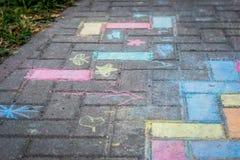 Arte colorida da rua Imagem de Stock Royalty Free