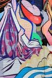 Arte colorida da rua em NYC Foto de Stock Royalty Free