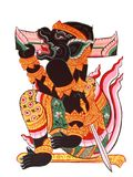 Arte colorida tailandesa tradicional do estilo Imagem de Stock Royalty Free