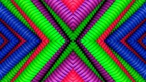 Arte colorido de los tubos stock de ilustración