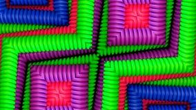 Arte colorido de los tubos libre illustration
