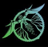 Arte con la criatura mística Imágenes de archivo libres de regalías