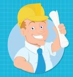 Personaje de dibujos animados - ejemplo del vector ilustración del vector