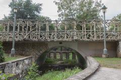 Arte concreta del ponte Immagini Stock