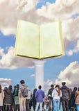 Arte contemporanea del collage di concetto della cultura di massa illustrazione di stock