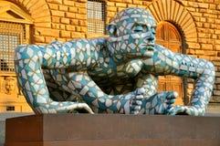 Arte contemporaneo a Firenze, Italia Immagine Stock