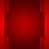 Arte corporativa rosso scuro di tecnologia illustrazione di stock