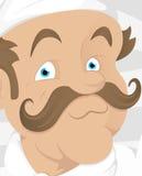 Cocinero - personaje de dibujos animados - ejemplo del vector ilustración del vector
