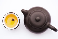 Arte culinaria del tè cinese Fotografia Stock