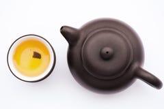 Arte culinario del té chino Fotografía de archivo