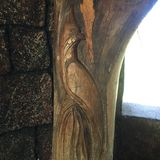Arte da árvore - jardim Harare do pássaro Fotografia de Stock Royalty Free