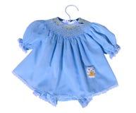 Arte da blusa (vestido do bebê) fotografia de stock royalty free