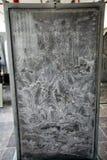 Arte da caligrafia no museu do beilin de Xian Fotografia de Stock Royalty Free