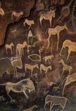 Arte da caverna imagem de stock royalty free