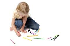 Arte da criança Fotografia de Stock Royalty Free