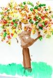 Arte da criança imagens de stock royalty free