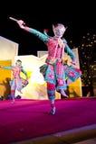 A arte da dança de Tailândia chamou o âKhonâ Fotos de Stock Royalty Free