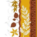 Arte da decoração da folha da folha Fotos de Stock