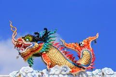 Arte da estátua do estilo chinês Foto de Stock Royalty Free