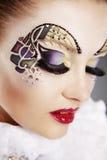 Arte da face Foto de Stock Royalty Free