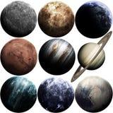Arte da ficção científica Beleza do espaço profundo Elementos desta imagem fornecidos pela NASA imagens de stock