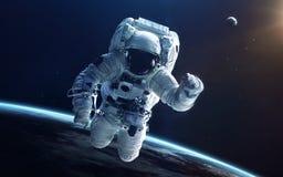Arte da ficção científica Beleza do espaço profundo Elementos desta imagem fornecidos pela NASA imagem de stock royalty free