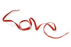 Arte da fita da forma do amor Imagens de Stock