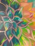 Arte da flor ilustração do vetor