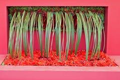 Arte da flor Fotografia de Stock Royalty Free