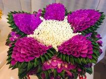 Arte da flor Fotografia de Stock