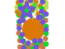 Arte da ilustração das laranjas Fotografia de Stock