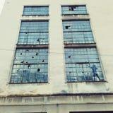 Arte da janela Imagens de Stock Royalty Free